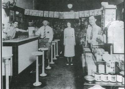 Photo---Branford---Ware's-Pharmacy---1950s