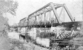 Photo---Bridge---Ellaville---1880s