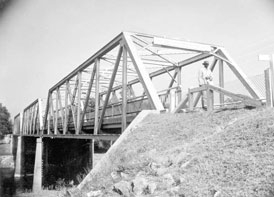 Photo---Bridge---Ellaville---Hillman-Bridge---1945