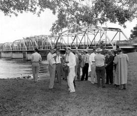 Photo---Bridge---Ellaville---Hillman-Bridge---1959
