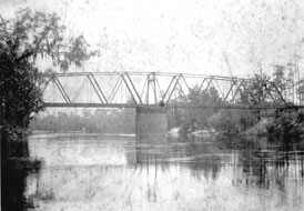 Photo---Bridge---Florida-Railway-near-Mayo---1900s---1