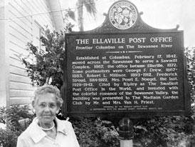Photo---Ellaville---Post-Office-Information-Plaque---1972
