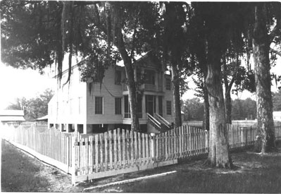 Photo---Hull-Hawkins-House---Circa-1972---1