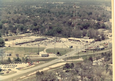Photo---Live-Oak---Aerial---East-of-Downtown---Late-1960s
