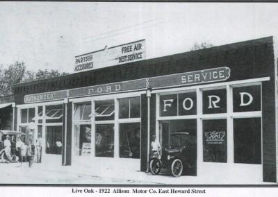 Photo---Live-Oak---Allison-Motor-Co.---1922---2