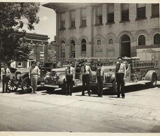 Photo---Live-Oak---City-Hall-and-Masonic-Lodge---1950s