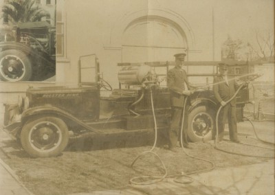 Photo---Live-Oak---Fire-Engine-Number-2---Early-to-Mid-1900s