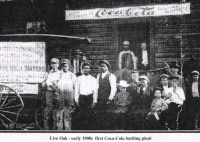 Photo---Live-Oak---First-Coca-Cola-Bottling-Plant---Early-1900s