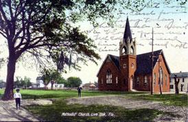 Photo---Live-Oak---First-United-Methodist-Church---Corner-of-Duval---1900s