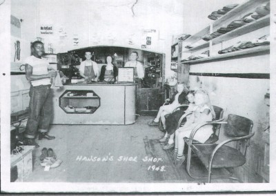 Photo---Live-Oak---Hanson's-Shoe-Shop---1948