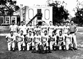 Photo---Live-Oak---High-School-Baseball-Team---1951