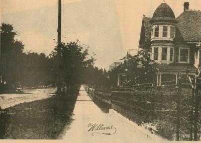 Photo---Live-Oak---Homes-and-Sidewalks---1908