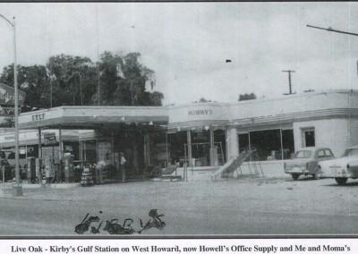 Photo---Live-Oak---Kirby's-Gulf-Station---Mid-1900s