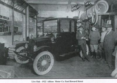 Photo---Live-Oak---Live-Oak---Allison-Motor-Co.---1922