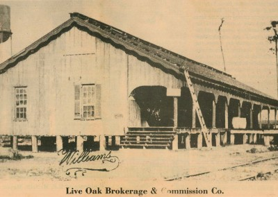 Photo---Live-Oak---Live-Oak-Brokerage-and-Commission-Company---1908