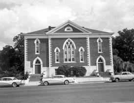 Photo---Live-Oak---Methodist-Church---1958