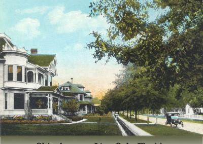 Photo---Live-Oak---Ohio-Avenue---1910s---Colorized