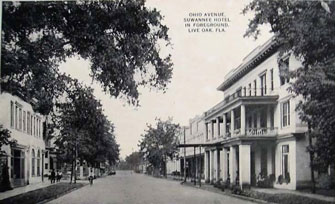 Photo---Live-Oak---Ohio-Avenue-Looking-North---Early-1900s