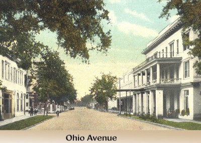 Photo---Live-Oak---Ohio-Avenue-looking-North---Partially-Colorized