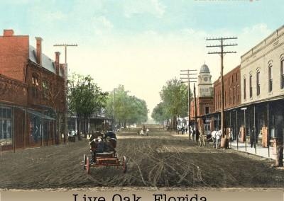 Photo---Live-Oak---Ohio-Avenue-looking-South---Colorized---1906-or-1907