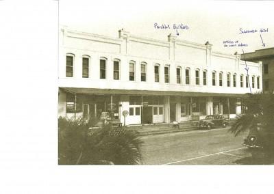 Photo---Live-Oak---Parshley-Building---Mid-1900s