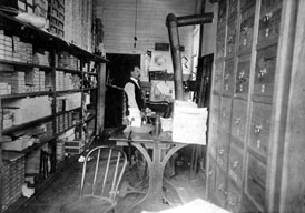 Photo---Live-Oak---Printing-Office---1900s---1