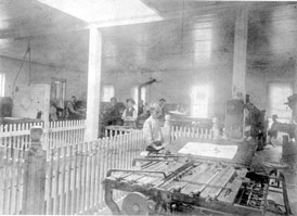 Photo---Live-Oak---Printing-Office---1900s---2