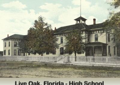 Photo---Live-Oak---Suwannee-High-School---First-Public---Colorized---2