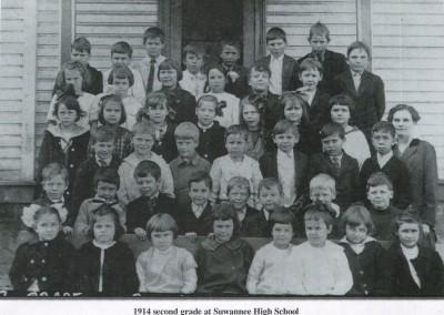Photo---Live-Oak---Suwannee-High-School---Second-Grade---1914