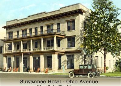 Photo---Live-Oak---Suwannee-Hotel---1920s---Colorized