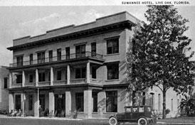 Photo---Live-Oak---Suwannee-Hotel---1920s