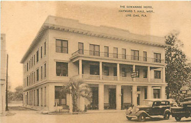 Photo---Live-Oak---Suwannee-Hotel---1928---1