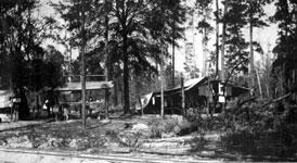 Photo---Luraville---Florida-Railway-Camp---Peacock-Slough---Circa-1915
