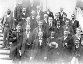 Photo---People---Florida-State-Senators-at-Capitol---D.-M.-McAlpin-2nd-from-right,-2nd-row-from-top---1875