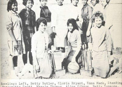 Photo---People---Girls-Basketball-Team---O'Brien-High-School---1964
