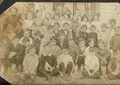 Photo---People---Live-Oak-School---Circa-1910---1st-Grade
