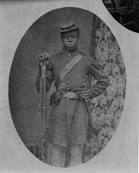 Photo---People---Private-Robert-J.-Jones-of-the-54th-Massachusetts---Died-at-Olustee