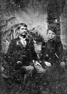 Photo---People---Shepard-Hagan-and-Jane-Rebecca-Gramling-Hagan---Circa-1890