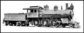 Photo---Railroad---Savannah,-Florida,-and-Western---Late-1800s