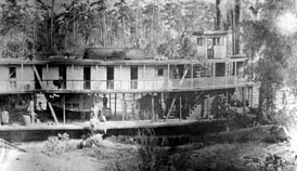 Photo---Steamboat---Belle-of-the-Suwannee---at-Ellaville---1800s
