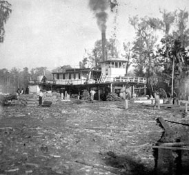 Photo---Steamboat---City-of-Hawkinsville---1910