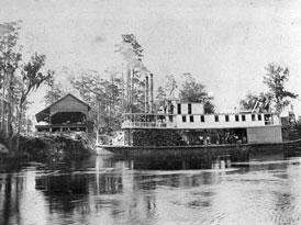 Photo---Steamboat---Louisa---Near-Luraville---1896