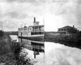 Photo---Steamboat---Suwanee---On-Caloosahatchee-River---1918