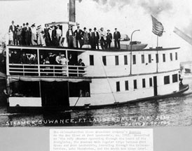 Photo---Steamboat---Suwanee---On-New-River---Circa-1912