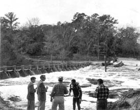 Photo---Suwannee-Springs---Dam---1962---6