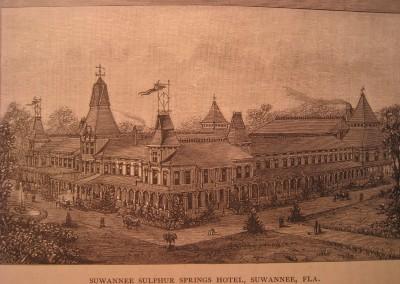 Photo---Suwannee-Springs---First-Hotel---Circa-1884